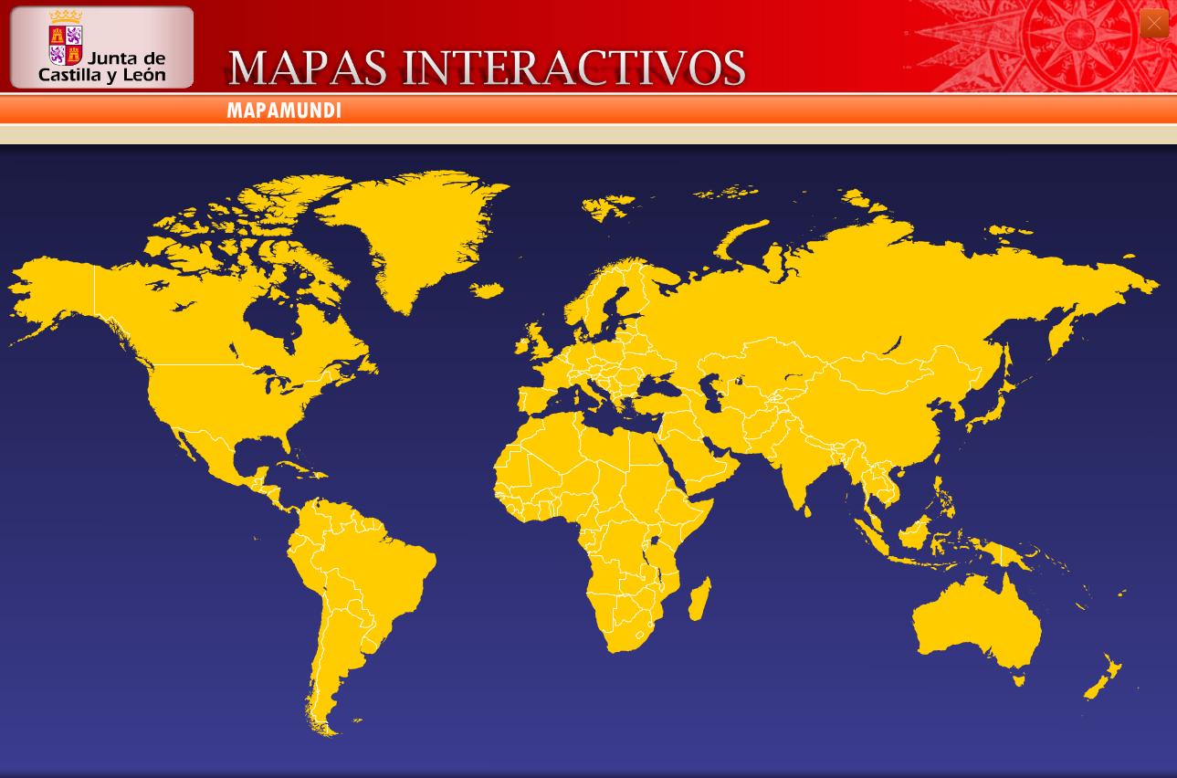 Mapa Para Jugar Dnde Est Pases De Amrica Del Sur Mapas Mapa